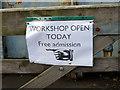 SN5881 : Vale of Rheidol Railway Workshop Open Day by John Lucas