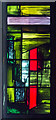 SP3379 : Detail of Baptistery window, Coventry Cathedral by J.Hannan-Briggs
