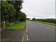NS3528 : Road (B749) at High Monktonhill by Peter Wood