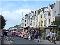 SS5147 : Tourist Train on Wilder Road, Ilfracombe by Gary Rogers