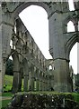 SE5784 : Rievaulx  Abbey  arch  upon  arch  upon  arch by Martin Dawes
