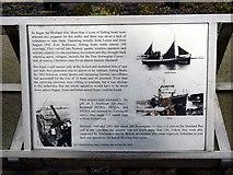 HU4039 :  'Shetland Bus' information panel 2 by John Lucas