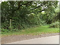 TM1285 : Bridleway to Back Lane by Adrian Cable