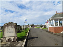 NS2742 : Hawkhill Cemetery, Stevenston by Peter Wood