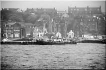 HU4741 : Lerwick Harbour from Bressay Sound by David Dixon