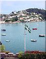 SX8750 : Devon Flag, Dartmouth by Des Blenkinsopp