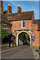 TQ1649 : Arch, Rose Hill House by Ian Capper
