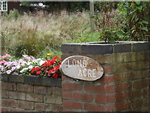 TM1387 : Long Acre sign by Adrian Cable
