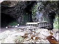 NC4167 : Entrance to Smoo Cave by Oliver Dixon