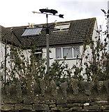 SO8700 : Sports car weather vane, Minchinhampton by Jaggery