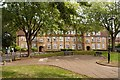 TQ3290 : Topham Square, Tower Gardens Estate, Tottenham by Julian Osley