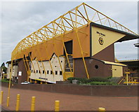 SO9199 : Billy Wright Stand, Molineux Stadium, Wolverhampton by Jaggery
