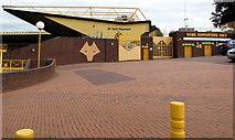 SO9199 : Sir Jack Hayward Stand, Molineux Stadium, Wolverhampton by Jaggery