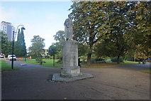 SU4212 : Statue of Richard Andrews in East Park by Bill Boaden