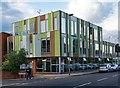 TQ2890 : South Friern Public Library, near Muswell Hill by Julian Osley