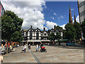 SP3379 : Ironmonger Square, Coventry by Robin Stott