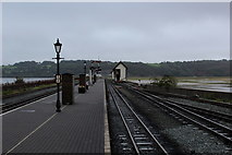 SH5738 : Porthmadog Harbour Station (1) by Chris Heaton