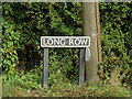 TM1487 : Long Row sign by Adrian Cable