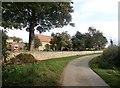 SK5996 : Lane by Wellingley Grange by Jonathan Clitheroe