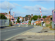 SU4212 : Level crossing over Mount Pleasant Road by Robin Webster