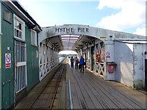 SU4208 : Hythe Pier - pier head railway station by Robin Webster