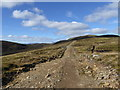 NN8940 : New road between Beinn Liath and Meall Dearg by Alan O'Dowd