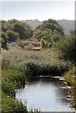 SK8336 : Work on Lock 15, Grantham Canal by Kate Jewell