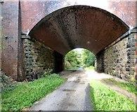 SJ9594 : Dowson Road bridge by Gerald England