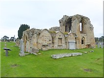 NJ0661 : Kinloss Abbey by Oliver Dixon