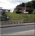 SJ3350 : North side of St Mary's Catholic Primary School, Wrexham by Jaggery