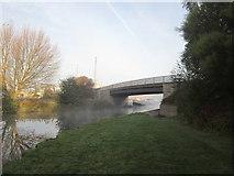 SE5023 : Skew Bridge at Fernley Green by John Slater