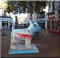 TQ3104 : Snowdog #32, Gloucester Road by Paul Gillett
