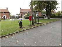 TM1686 : School Road Postbox by Adrian Cable
