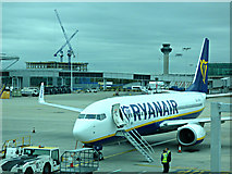 TL5523 : Airside at Stansted Airport by Thomas Nugent