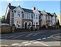 ST2996 : Row of four stone houses, Chapel Street, Pontnewydd, Cwmbran by Jaggery