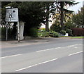SO9524 : Directions sign, Evesham Road, Cheltenham by Jaggery