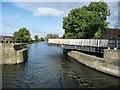 SE6211 : Bramwith swingbridge, closing to boaters by Christine Johnstone