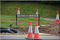 SS9712 : Tiverton : Tidcombe Lane by Lewis Clarke