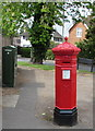 SO9523 : Victorian pillarbox on a Cheltenham corner by Jaggery