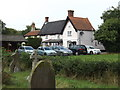 TM1485 : The Crown Public House, Gissing by Adrian Cable