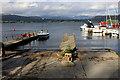 NY3801 : Jetties on Low Wood Bay Marina by Chris Heaton