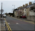 SS8377 : New Road speed bump, Porthcawl by Jaggery
