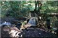 SE1910 : Footbridge over Shepley Dike by Ian S