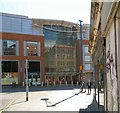 SJ8498 : Withy Grove entrance to the Arndale Centre by Gerald England