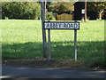 TM0691 : Abbey Road sign by Adrian Cable
