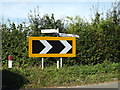TM0592 : Signpost on Fen Street by Adrian Cable