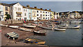 SX9372 : River frontage at Teignmouth by Mike Dodman