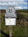 TV5396 : National Trust Sign: Crowlink by PAUL FARMER