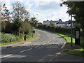 ST2693 : Sunday morning jogger in Henllys Way, Cwmbran by Jaggery