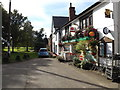 TM0691 : Forge Close & Old Buckenham Post Office & village Shop by Adrian Cable